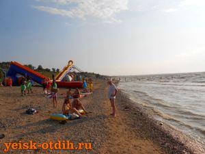 Пляж Каменка 6 ейск