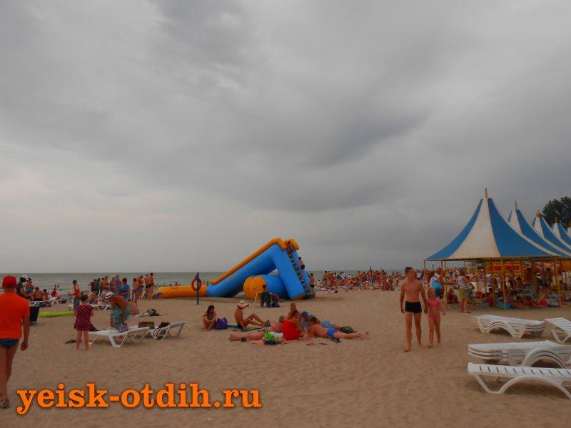 Центральный пляж Ейск 4