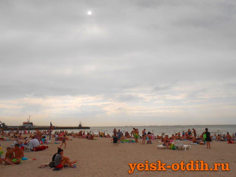 Центральный пляж Ейск 5