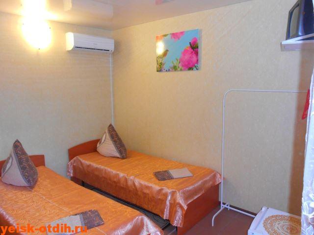 номер мини гостиница у азовского моря ейск 2 местный