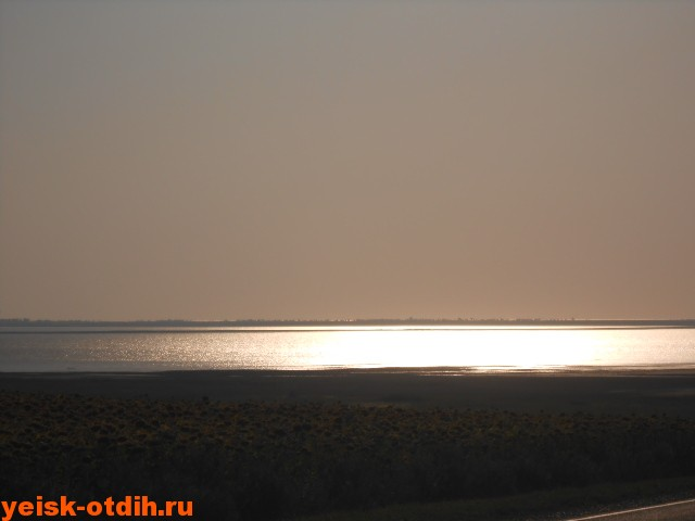 ханское озеро ейский район