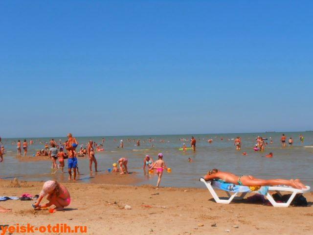 Пляжи ейска каменка отзывы и фото
