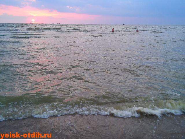 Пляж Каменка Ейск Азовское море