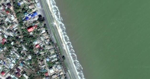 141 Пляж ул. Нижнесадовая на Ейском лимане
