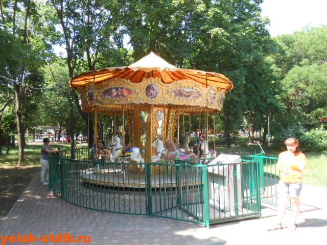 аттракционы для детей парк поддубного ейск
