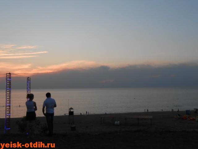 азовское море пляж каменка ейск