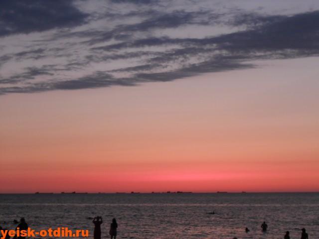 отдых лето ейск азовское море каменка