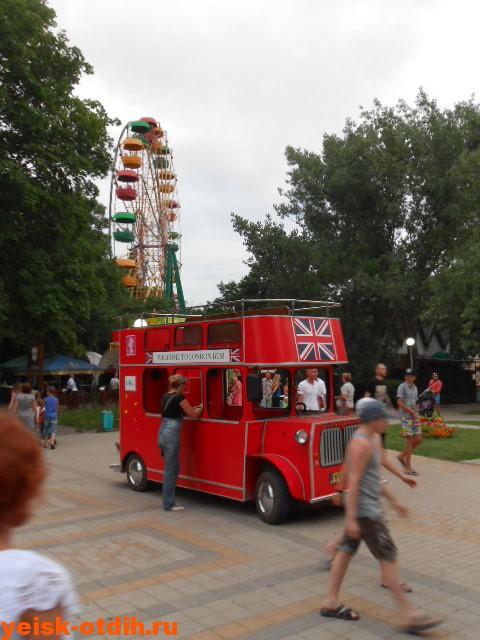 парк поддубного детский автобус ейск