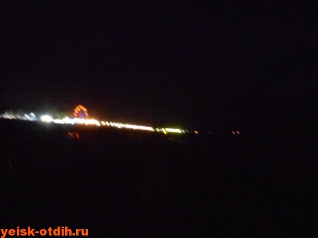 ночной ейск пляж набережная