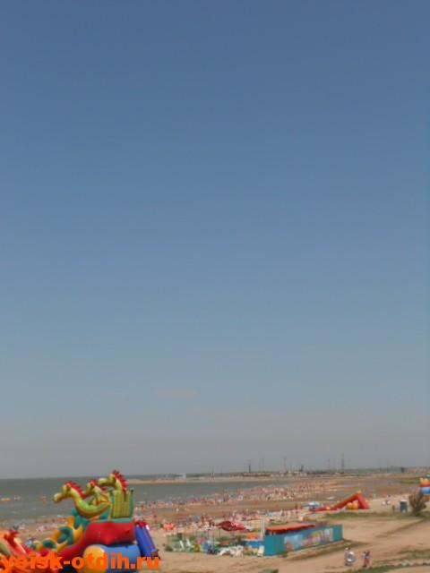 азовское море ейск пляж лето