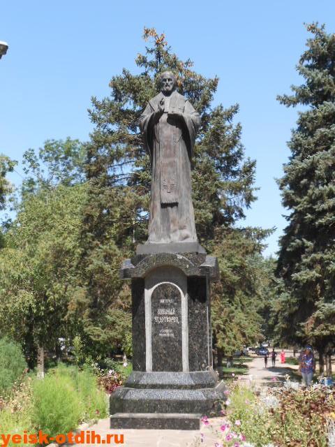 памятник николаю чудотворцу в ейске