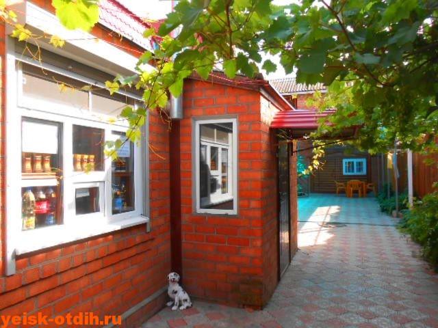 Продуктовый киоск в мини гостинице У Азовского моря ейск