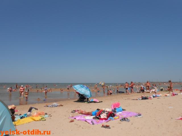 фото азовское море ейск пляж