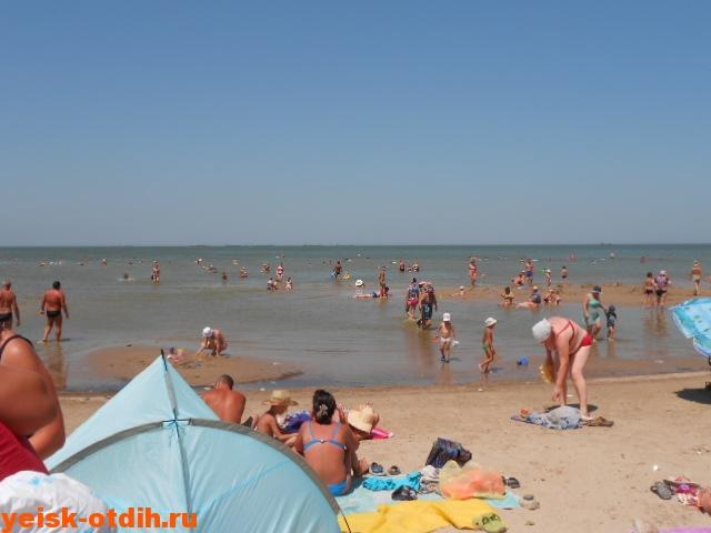 пляж каменка лучший пляж ейска
