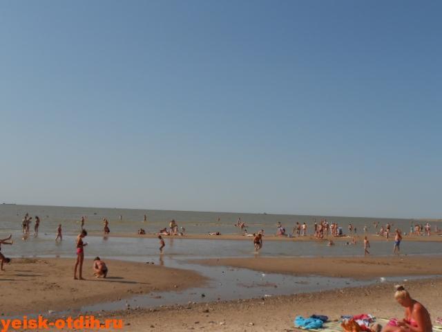 таганрогский залив пляж ейск