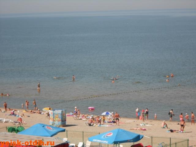 пляж ейск
