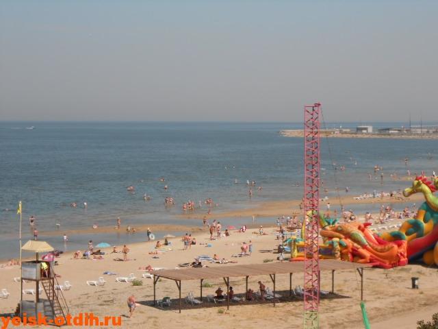 песочный пляж ейск