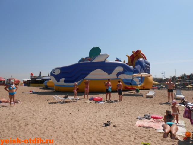 пляжи на таганрогском заливе в ейске