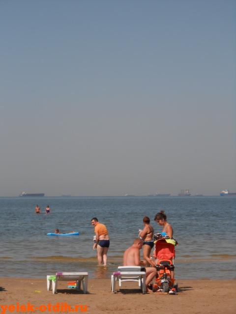 пляж песок в ейске