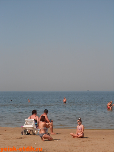 на каком пляже в ейске лучше