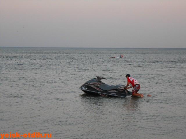катание на водных мотоциклах в ейске