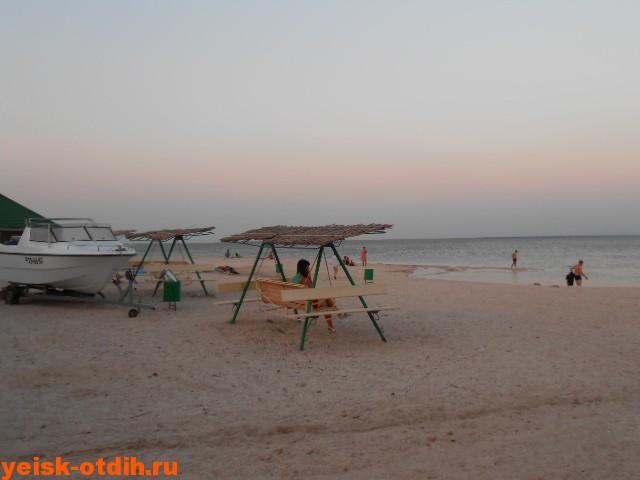 пляж яхт клуба ейск