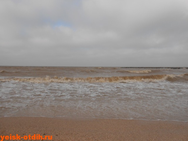 шторм на азовском море