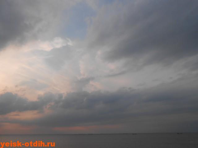азовское море ейск закат