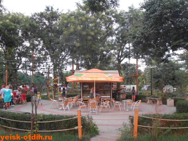 кафе в парке ейск
