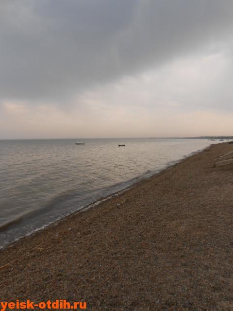 неблагоустроенный пляж в ейске