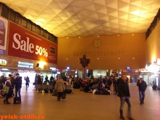 московский вокзал петербург