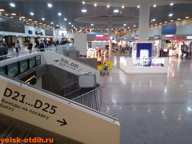 аэропорт Пулково 2016