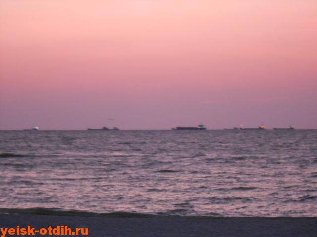 азовское море на закате