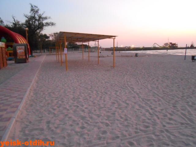 отдых в ейске на центральном пляже