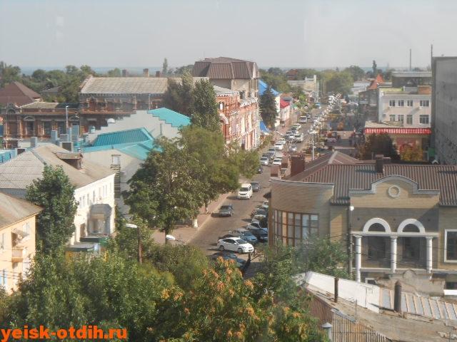 улица Победы в Ейске