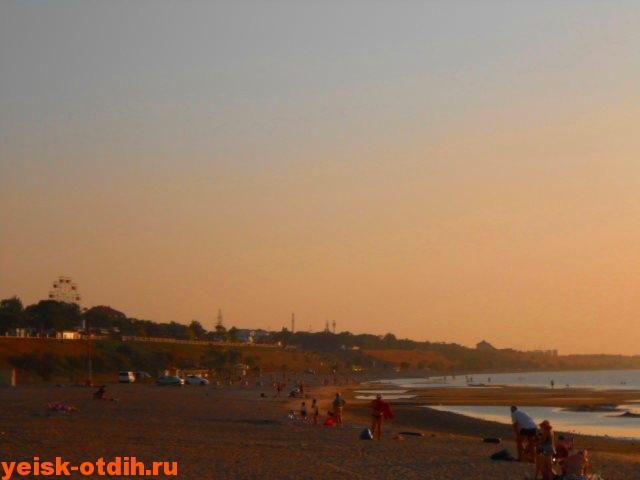 смотреть фото пляжа каменка ейск