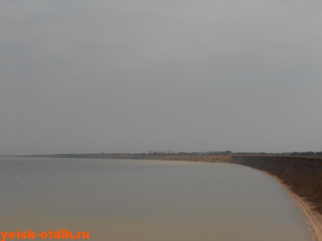 пляж обрыв