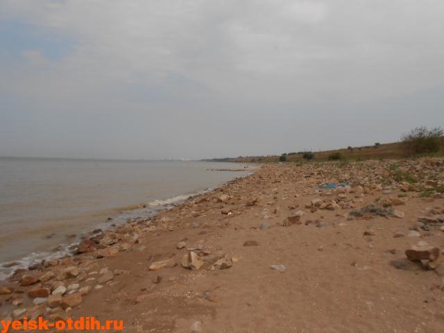 дикий пляж обрыв