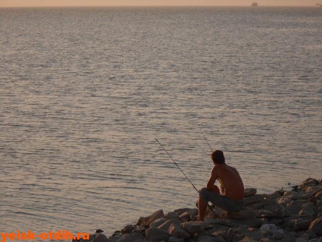 рыбные места в ейске