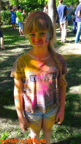 фестиваль красок в ейске