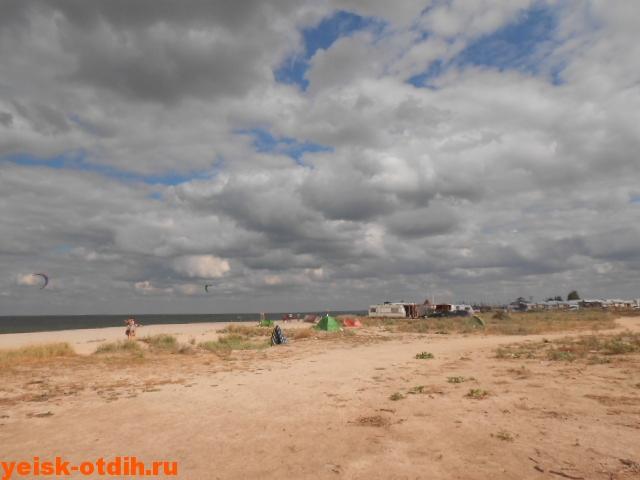 Таганрогский залив коса Долгая