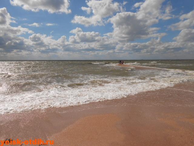 море пляж коса Долгая