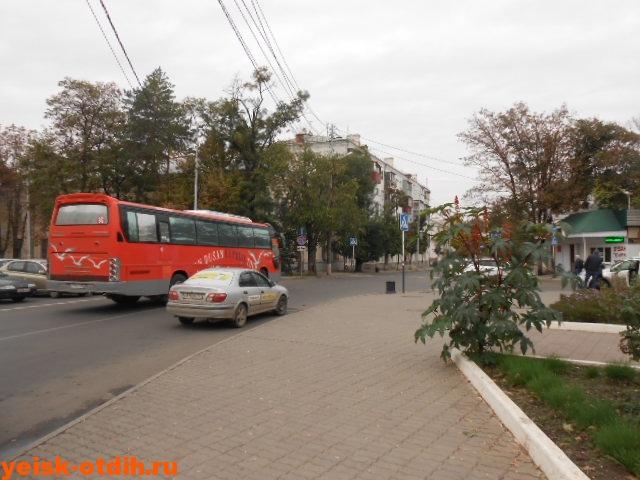 краснодар ейск на автобусе